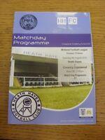 08/08/2015 Heath Hayes v Coventry Copsewood  . Footy Progs/Bobfrankandelvis, exp