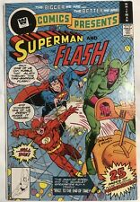 DC Comics Presents No. 2 (DC, 1978) VF* Superman Flash Whitman Variant
