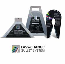 Wintec and Bates Easy Change Gullet System Complete Kit Set Wide & Gullet Gauge