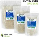 Size 00 Clear Empty Gelatin Pill Capsules Kosher Gel Caps Gluten-Free USA Made