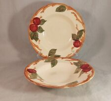 Set of 2 Franciscan Apple USA Rim Soup Bowls