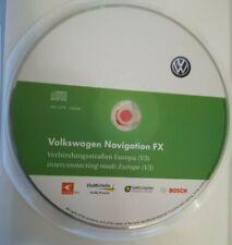 CD VOLKSWAGEN NAVIGATION FX HAUPTSTR. EUROPA 2011 RNS310 GOLF PASSAT POLO TOURAN