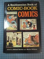SMITHSONIAN BOOK OF COMIC BOOK COMICS HC W/DJ 1981 SUPERMAN BATMAN