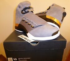 DS Air Jordan XVII 17 TROPHY ROOM COOL GREY GOLD OG RETRO 10 FINALS xx8 XII XI 1