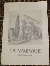 1981 ✤ GRAND MENU ✤ La Vaunage / Saint-Côme 30870