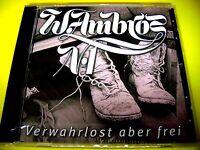 WOLFGANG AMBROS  VERWAHRLOST ABER FREI | NEU & OVP <|> Austropop Shop 111austria
