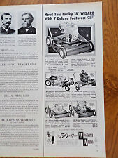 1959 Western Auto Lawn Mower Ad Shows 5 Models
