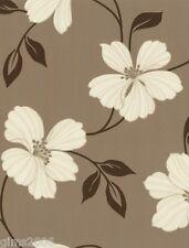 Finesse sendero floral marrón Wallpaper 05624-30