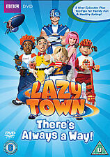 LAZYTOWN THERE IS ALWAYS A WAY DVD LAZY TOWN THERE'S BRAND NEW UK RELEASE R2
