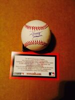Henry Owens Signed Rawlings OML baseball! Red Sox! Top Prospect! MLB Authentic
