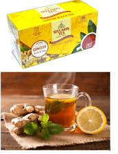 Steuarts Ceylon 100% NATURAL BLACK GINGER TEA 25 tea bags quality Original tea