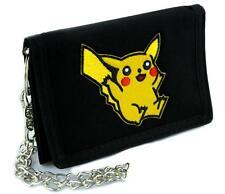 Pikachu Pokemon Go Tri-fold Wallet with Chain Alternative Clothing Gotta Catch