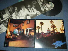 EAGLES Japan 1976 Original P-10221Y LP+Poster HOTEL CALIFORNIA