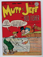MUTT AND JEFF #29 5.0 1947 OFF-WHITE PAGES