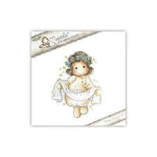 Magnolia Rubber Stamps Tilda With Banner, NEW