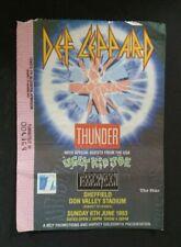 More details for def leppard thunder ugly kid joe uk 1993 adrenalize concert tour ticket stub