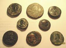 8 ROMAN PROVINCIAL BRONZE COINS. Ref. 082.