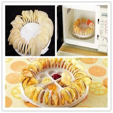 Microwave Potato Crisp Chip Maker DIY Slicer Healthy Custom Flavor Kitchen Bake