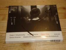 KHATIA BUNIATISHVILI Tchaikovsky Kissine Piano Trios Gidon Kremer ECM CD Signed