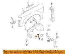 AUDI OEM 95-11 A6 Quattro-Fender Liner Pin Clip Retainer 4A0805121A