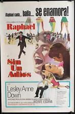 R055 SIN UN ADIOS Spanish/U.S. 1sh Raphael & 16 year old  Lesley Anne Down, 1970