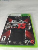 WWE '13 - XBOX 360 - Complete - Manual - Fast Shipping!