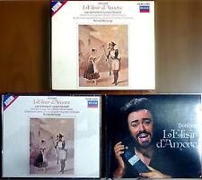 Gaetano Donizetti, L'Elisir d'Amore, Ed. Decca, 1985