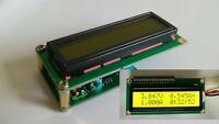 Dual Display LCD Multimeter Voltage Current Power Capacity Resistance Time Meter