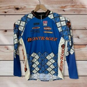Vintage Bontrager Cycling Jersey 3 Quater Zip Size L