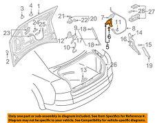 AUDI OEM 02-09 A4 Quattro Trunk-Lock or Actuator Latch Release 8E5827505B