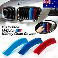 M-Power Kidney Grille Tri-Color 3 Covers Insert Clips fits BMW *ALL Series HERE*