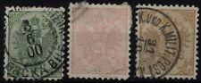 Echte Briefmarken (bis 1945) als Einzelmarke mit Einzelfrankatur österreichische