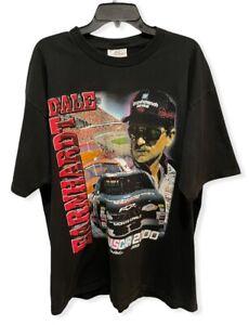 Vtg Dale Earnhardt 2000 Men's XL Nascar Winston Cup Double Sided Black T-Shirt