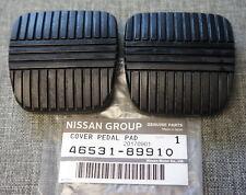 2x OEM Nissan Brake & Clutch Pedal Pad Cover for G35 350Z Altima Maxima GENUINE