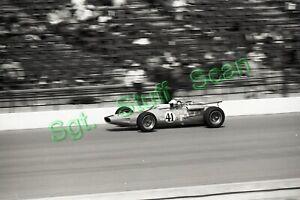 1966 USAC Indy car racing Photo negative Bobby Johns Indy 500
