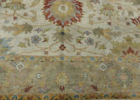 9'x12' New Fine Quality Vege Dyed Hand Knotted Wool Mahal Oushak Oriental rug