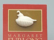 Margaret Furlong partridge Lapel Pin 1999 National Celebration Event carded