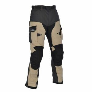 Oxford Montreal 2.0 Mens Textile Waterproof Motorcycle Trousers - Desert