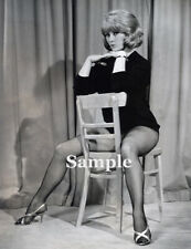 #7 Lovely young blonde T.M. Pinup -Vintage 1960's - modern Reprint - size 4 x 6