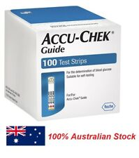 Accu Chek Guide 100 Test Strips **Sydney Stock**