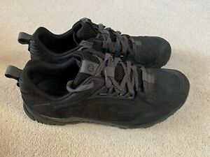 Merrell Annex Trak Low men's trainers in black/grey - size 10.5 - boxed