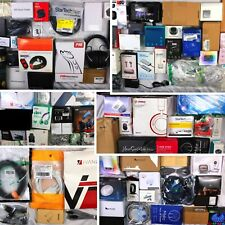 Huge Wholesale Lot of Assorted Consumer Electronics, 90 items, Msrp over $1800!