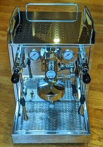 ECM Barista/Technica espresso machine, E61 group, rotary pump, heat exchanger