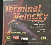 Terminal Velosity CD-ROM PC GAME