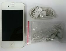 Apple iPhone 4 - 8GB - White (AT&T) Smartphone (MD196LL/A) Clean ESN / IMEI
