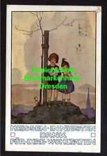 116510 AK Wien Österreichischer Karitasverband Danke für Spende Künstlerkarte 19