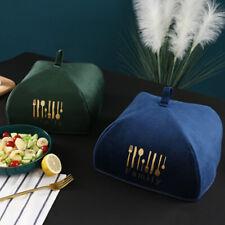 1pc Winter Insulation Meal Cover Food Velvet Cloth Dust Vegetable Co Jc