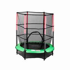 Trampoline With Enclosure Safety Net Kids Child 12foot