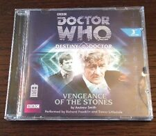 Doctor Who - Vengeance Of The Stones Audio Book Cd Richard Franklin MINT!