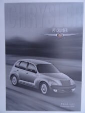 Chrysler PT Cruiser Price List 2000 - 2.0 Classic, Limited and Touring Editions.
